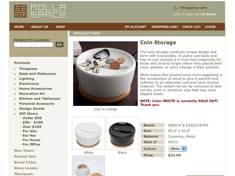 Coin Storage