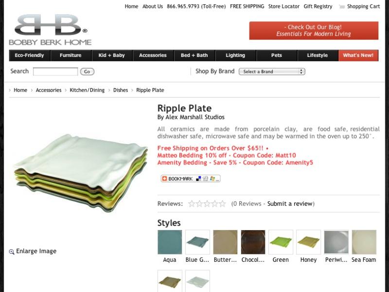 Ripple Plate