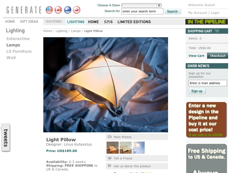 Light Pillow