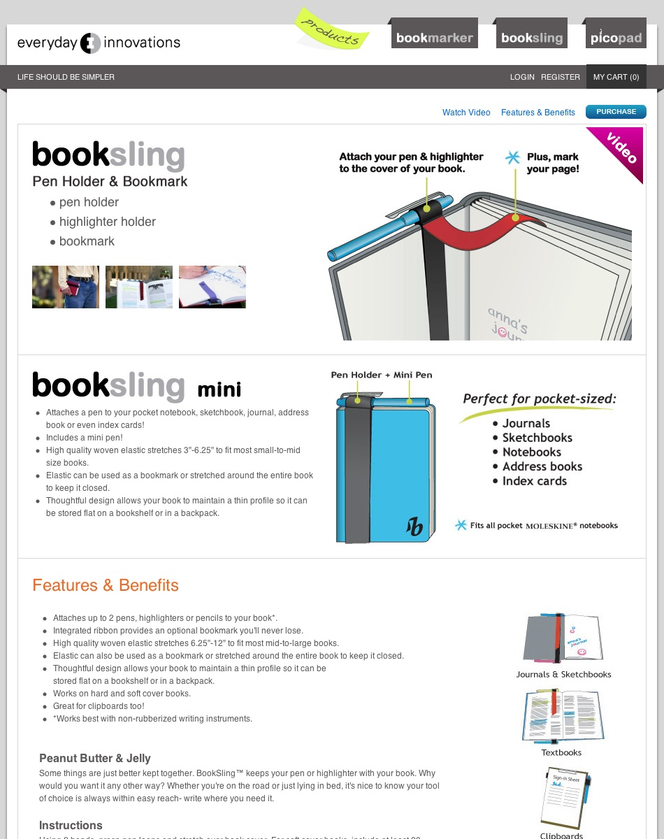 BookSling mini